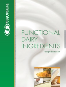 Functional Dairy Ingredients Brochure